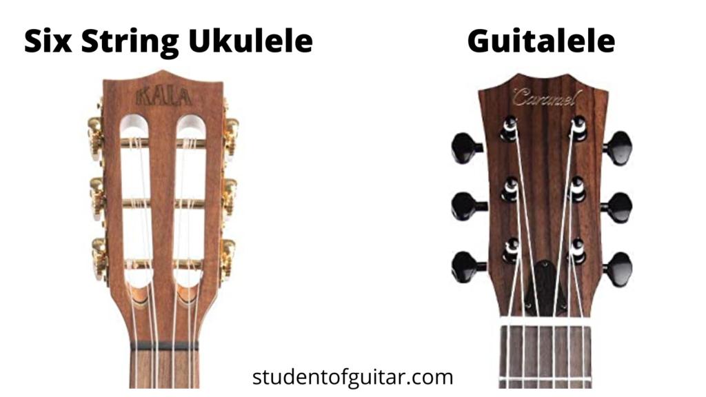 guitalele vs 6 string ukulele